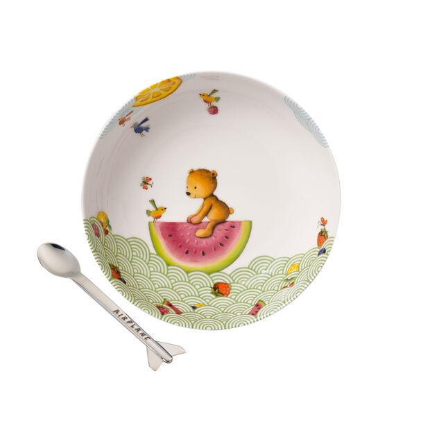Hungry as a Bear Ensemble pr le repas pr enfants, 2 pcs, , large