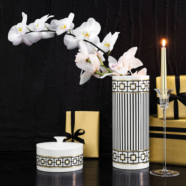 MetroChic Gifts Boîte en porcelaine 16x13x10cm, , large