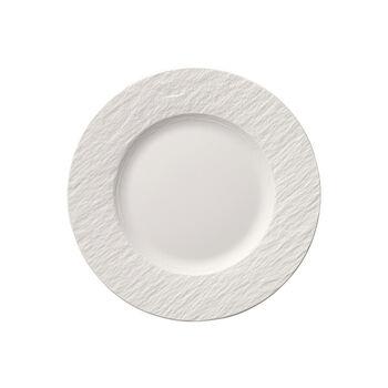 Manufacture Rock Blanc assiette à dessert
