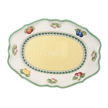 French Garden Fleurence plat ovale 44cm