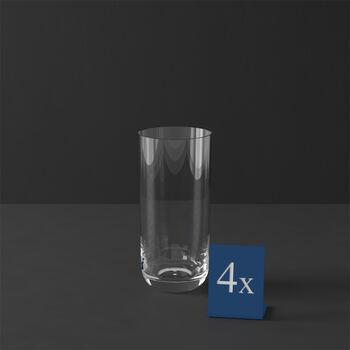 La Divina verre à long drink, 4pièces