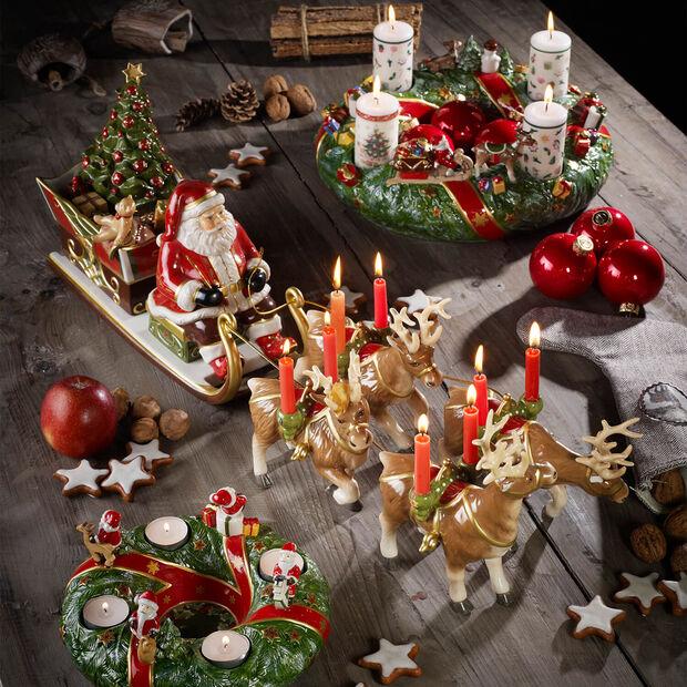 Christmas Toys Memory Santa's Promenade en traîneau 22x70x16cm, , large