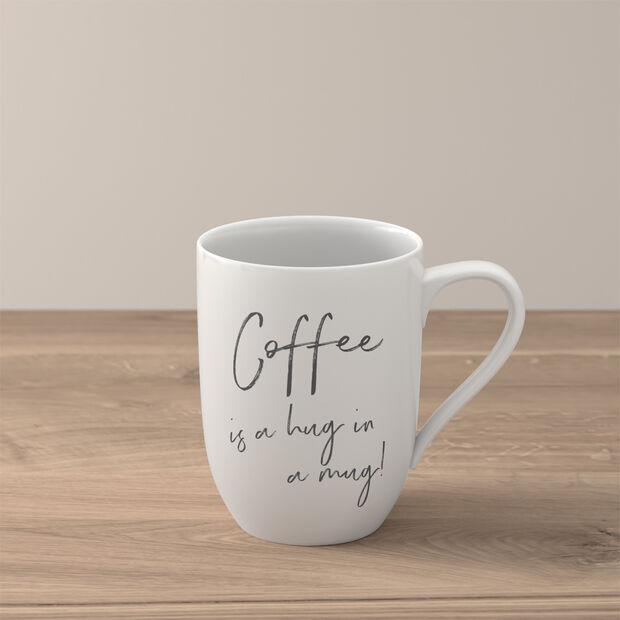 Statement mug «Coffee is a hug in a mug», , large