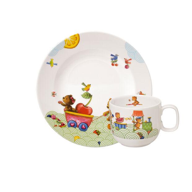 Hungry as a Bear Ensemble pt-déjeuner pr enfants, 2 pcs, , large