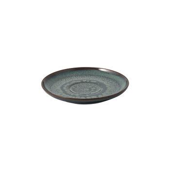 Crafted Breeze sous-tasse pour tasse à café, bleu-gris, 15cm