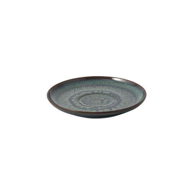 Crafted Breeze sous-tasse pour tasse à café, bleu-gris, 15cm, , large