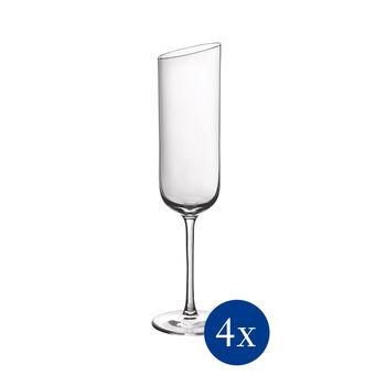 NewMoon ensemble de flûtes à champagne, 170ml, 4pièces