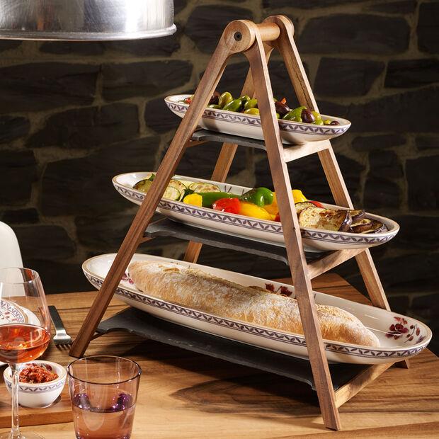 Artesano Provençal Lavande plat à baguette, , large