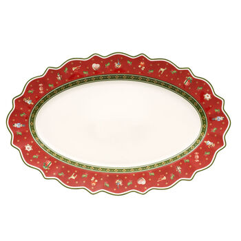 Toy's Delight plat ovale