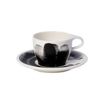 Coffee Passion Awake Tasse à cappuccino avec soucoupe séparée