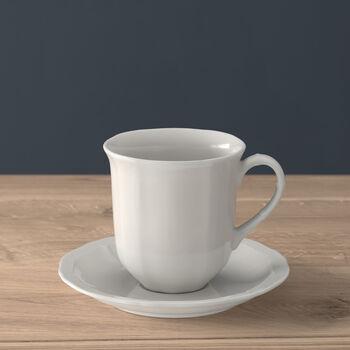 Manoir Tasse à thé avec soucoupe 2pcs