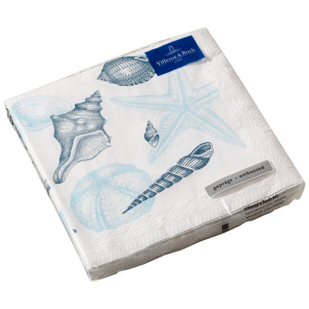 Serviettes en papier Montauk Beachside, 20pièces, 33x33cm, , large