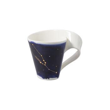 NewWave Stars mug taureau, 300ml, bleu/blanc
