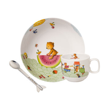 Hungry as a Bear Ens. de vaisselle pr enfants, 3pcs