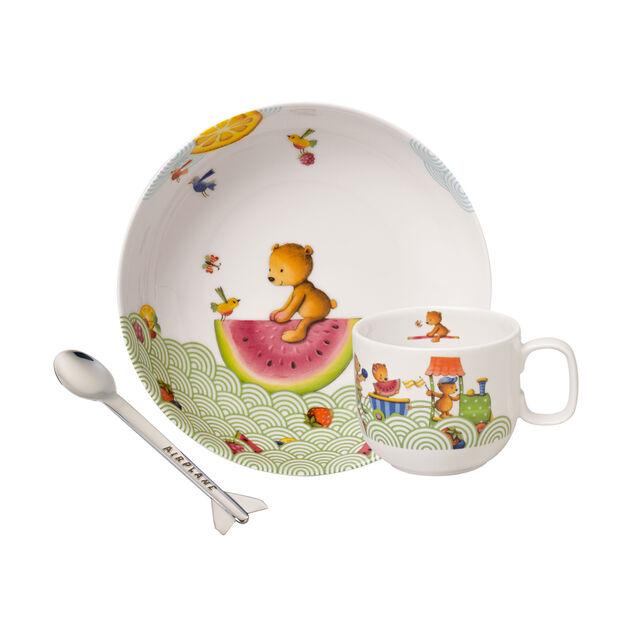 Hungry as a Bear Ens. de vaisselle pr enfants, 3pcs, , large