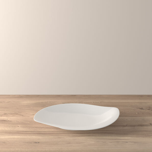 New Cottage Special Serve Salad coupe plate 34cm, , large