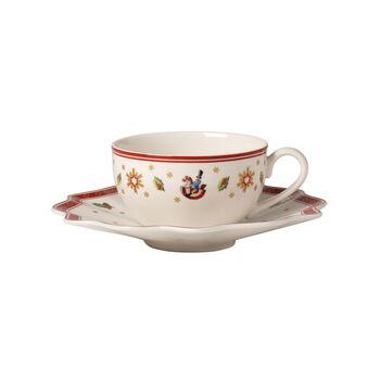 Toy's Delight Tasse à café/thé avec souc. blanche 2pcs