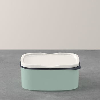 ToGo&ToStay boîte à repas, 13x10x6cm, carrée, vert menthe