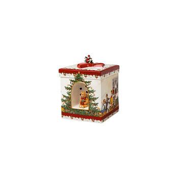 Christmas Toys Paquet-cadeau grand carré, 2021 16x16x21,5cm