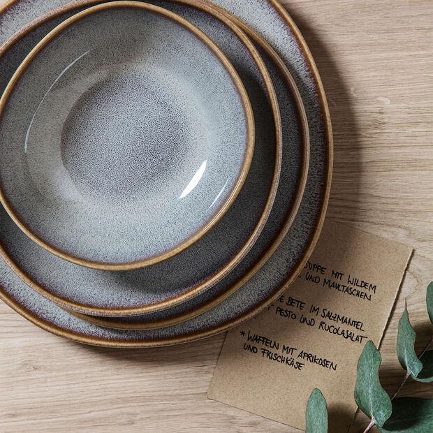 Lave Beige assiette plate, beige, 28x28x2,7cm, , large