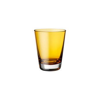 Colour Concept verre à eau/long drink/cocktail ambre 108mm