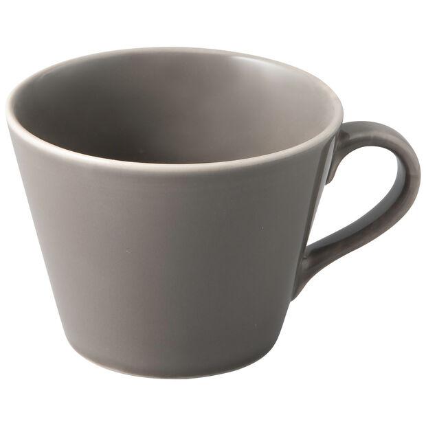 Organic Taupe tasse à café, taupe, 12x9,5x7cm, , large
