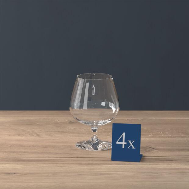 Entrée Verre à Cognac Set 4 pcs 132mm, , large