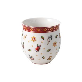Toy's Delight mug sans anse, multicolore/rouge/blanc, 290ml