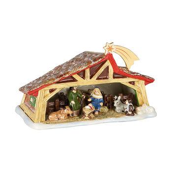 Christmas Toy's Memory crèche, multicolore, 27x16x16cm