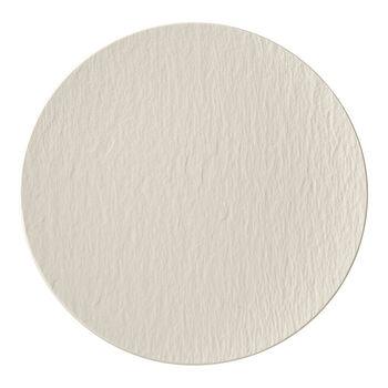 Manufacture Rock blanc Assiette gourmet 31,5x31,5x2,5cm