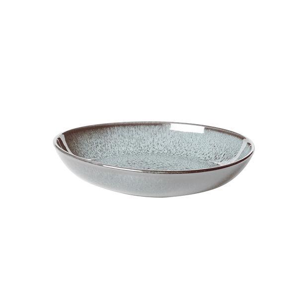 Lave Glacé petite coupe plate, turquoise, 22x21x4,2cm, , large