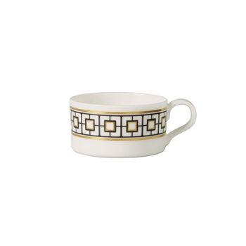 MetroChic tasse à thé, 230ml, blanc-noir-or