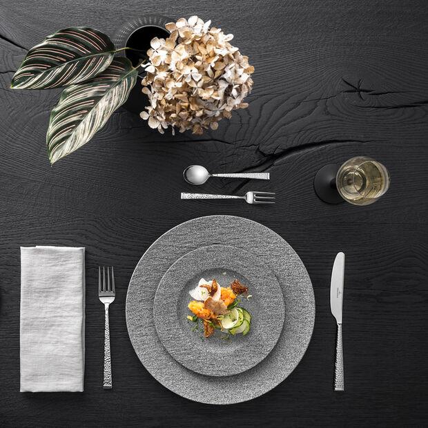 Manufacture Rock Granit assiette à dessert, 22cm, gris, , large