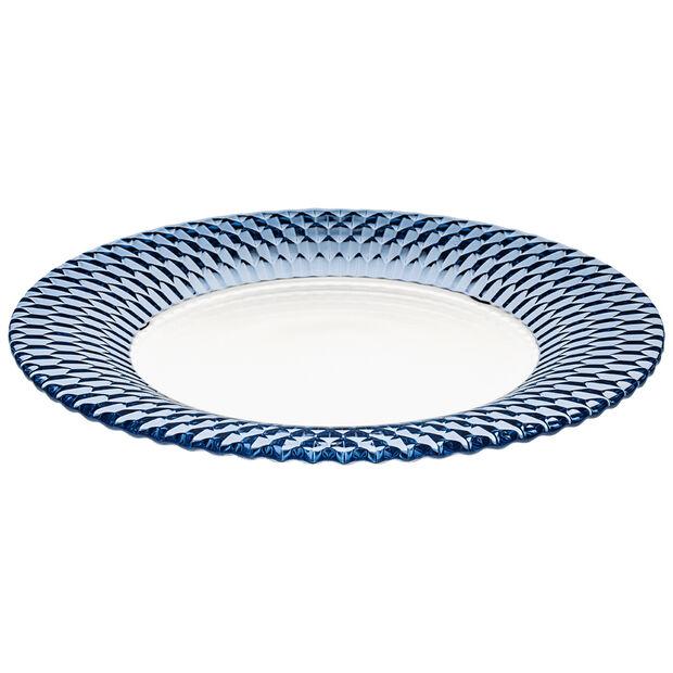 Boston Coloured assiette de présentation, bleu, 32cm, , large