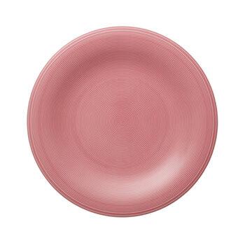 Color Loop Rose assiette plate 28x28x3cm