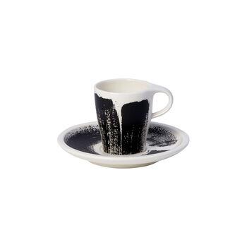 Coffee Passion Awake Tasse à expresso avec soucoupe séparée