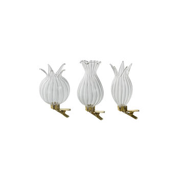 Spring Fantasy Accessories Vase avec pince, set de 3 8,5x5cm