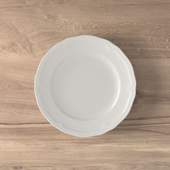 Manoir assiette à dessert
