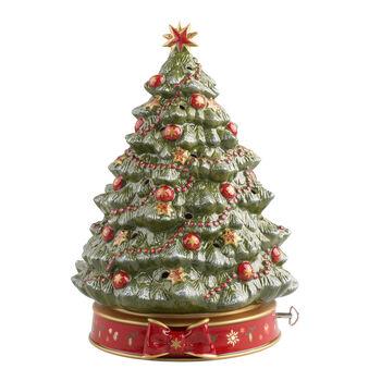 Toy's Delight Sapin de Noël avec boîte à musique 33cm