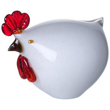 Special offer Poule blanc 17x15cm