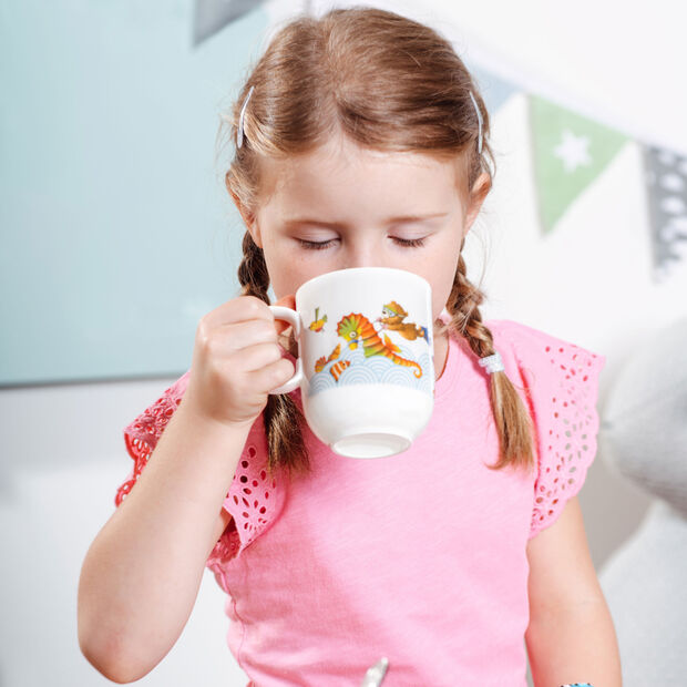 Happy as a Bear tasse pour enfants grande 11,5x8x9,5cm, , large