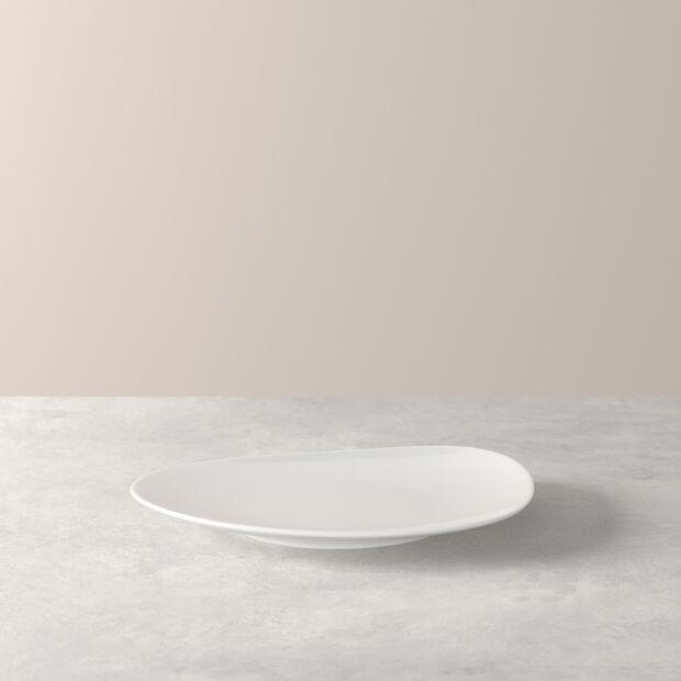 Organic White assiette à dessert, blanche, 21cm, , large