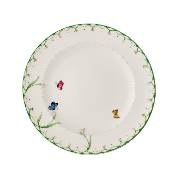 Colourful Spring assiette plate, , large