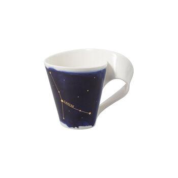 NewWave Stars mug cancer, 300ml, bleu/blanc