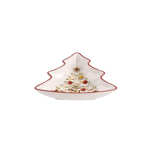 Winter Bakery Delight Coupe en forme de sapin, petite 17cm, , large