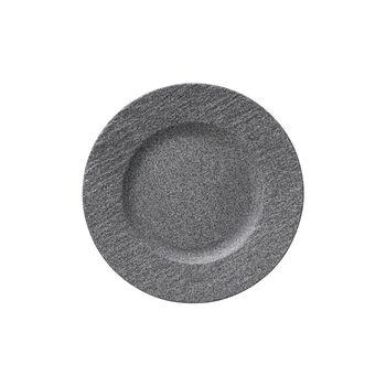 Manufacture Rock Granit assiette à dessert, 22cm, gris