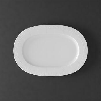 White Pearl plat ovale 41cm