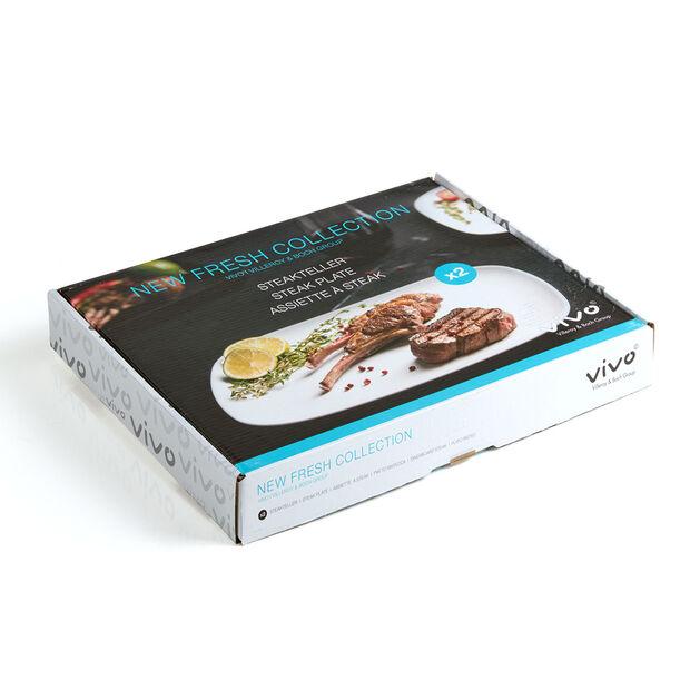 vivo | Villeroy & Boch Group New Fresh Collection Set d.2 assiette a steak 30x25cm, , large