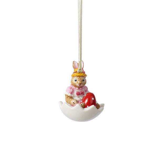 Bunny Tales ornement Anna dans une coquille d'œuf, , large