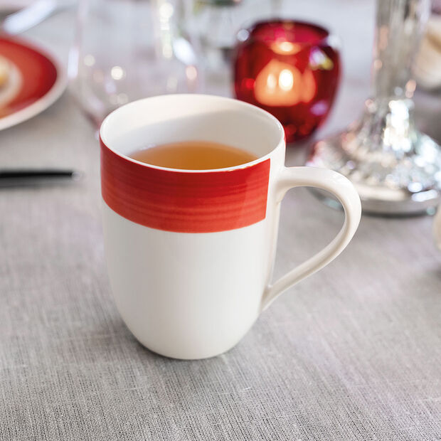 Colourful Life Deep Red mug à café, , large
